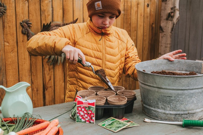 Seed-starting kits make it easy for kids to take charge. - TAMBI LANE PHOTOGRAPHY