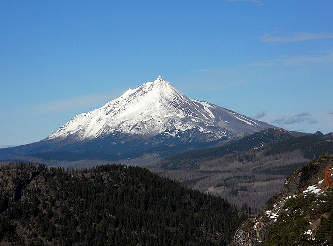 Mt. Jefferson, which sits in Jefferson, Linn and Marion counties. - JSAYRE64, WIKIMEDIA