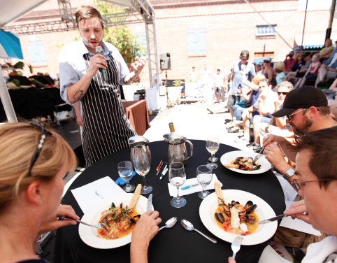 The Top Chef competition is a highlight of The Bite of Bend, showcasing the culinary talent of the Central Oregon community. - LIOE
