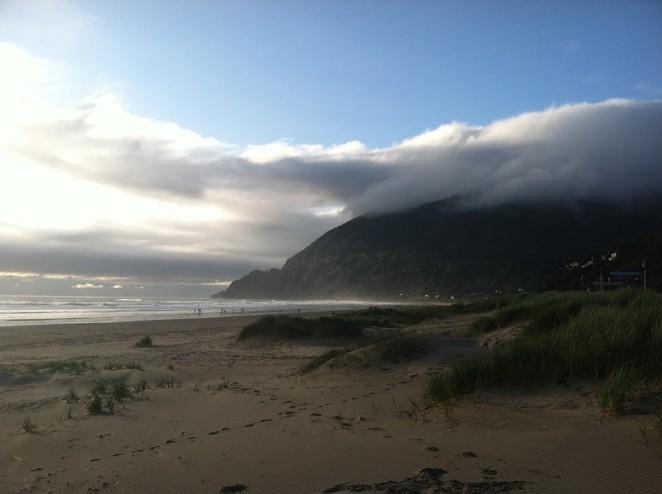 Manzanita, the apple of many people's eyes on the Oregon coast. - COURTESY KIM COOPER FINDLING