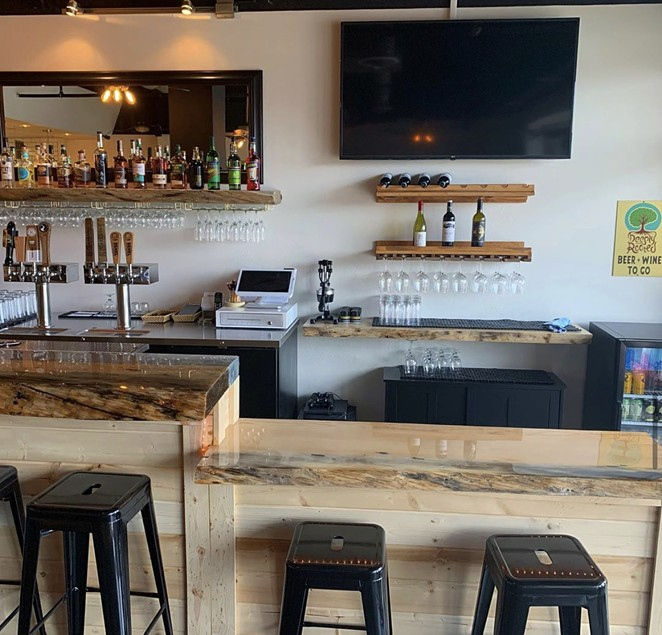 Inside Deeply Rooted, which opened March 23 in the former Bad Wolf Bistro location. - COURTESY DEEPLY ROOTED