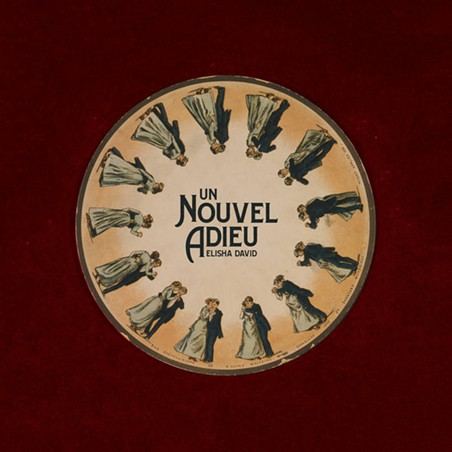 "Album artwork for ""Un Nouvel Adieu."" - ELISHA DAVID"