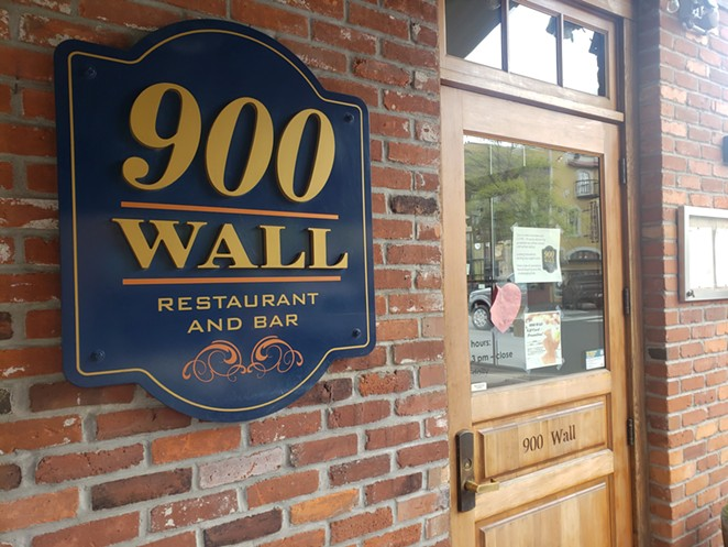 Often boasting a line out the door, 900 Wall has been shut down for a couple of months - and restrictions to reopen are proving to be quite a hurdle. - CAYLA CLARK