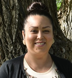 Carina Miller grew up in Warm Springs and served on the 27th Tribal Council of the Confederated Tribes of Warm Springs. - CARINA MILLER - WSCAT