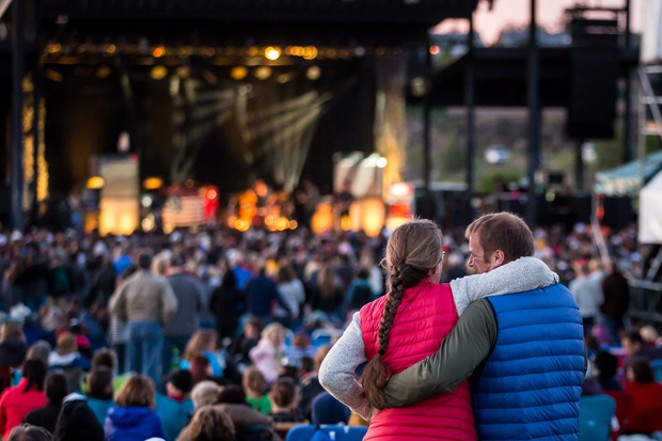 What the Les Schwab Amphitheater looks like during normal summers. - RYAN ADAMS