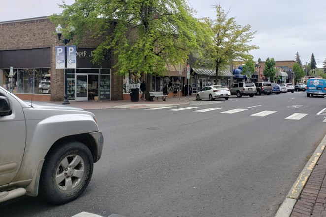 Downtown Bend businesses could benefit from car-free streets this summer. - CAYLA CLARK