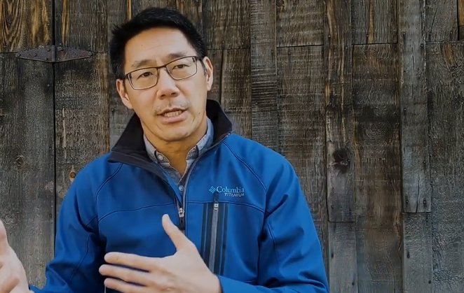 Phil Chang won by a landslide (84.86%) in Tuesday's Democratic Primary election for Deschutes County Commissioner, Position Two. He'll run against Commissioner Phil Henderson in November. - SCREENSHOT VIA YOUTUBE - PHIL CHANG FOR DESCHUTES COUNTY COMMISSIONER