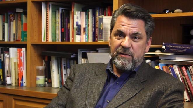 Reverend Steve Koski of First Presbyterian Church in Bend. - DARRIS HURST