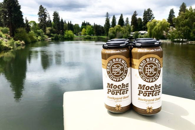 Combining the beloved flavors of coffee and beer, Bend Brewing's Mocha Porter is a win for sure. - ISAAC BIEHL