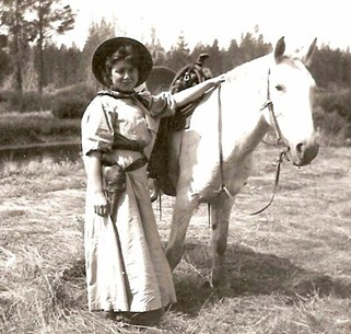 """Kathryn Grace Vandervert, known as a gregarious rebel who embodied the """"anything goes"""" attitude of the Western frontier, was one of the first Bendites to die of the Spanish flu at age 28. - DESCHUTES COUNTY HISTORICAL SOCIETY"""