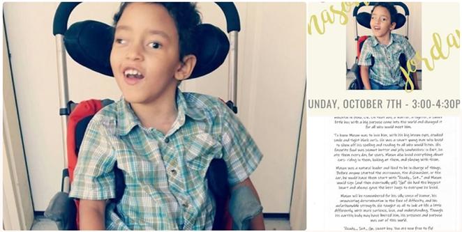 Dianna Hansen started a GoFundMe campaign to raise $10,000 for Mason Jordan's funeral. - GOFUNDME