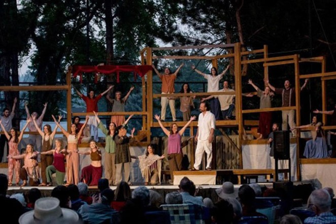 What better way to enjoy a warm summer evening than a dinner theater-style performance right by the river? - CAROL STERNKOF