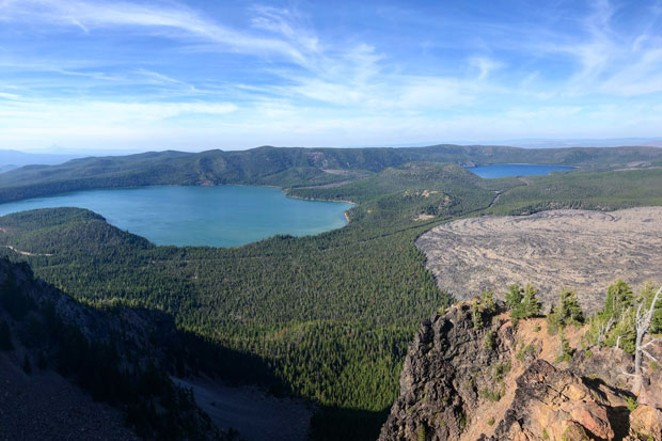Views from Paulina Peak at the Newberry National Volcanic Monument. - ISAAC BIEHL
