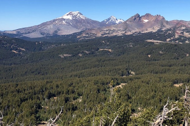 Looking out from the top of Tumalo Mountain. - ISAAC BIEHL