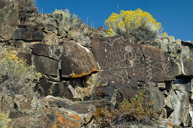 Petroglyphs. - GREG BURKE