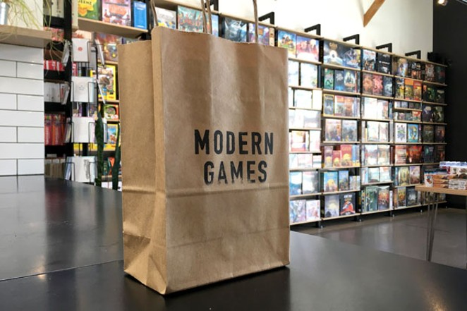 Brian Evans, owner of Modern Games, is anticipating a low-key re-opening this weekend with restrictions in place. - COURTESY MODERN GAMES