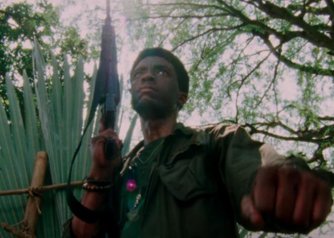 A still from Da 5 Bloods. - NETFLIX FILMS