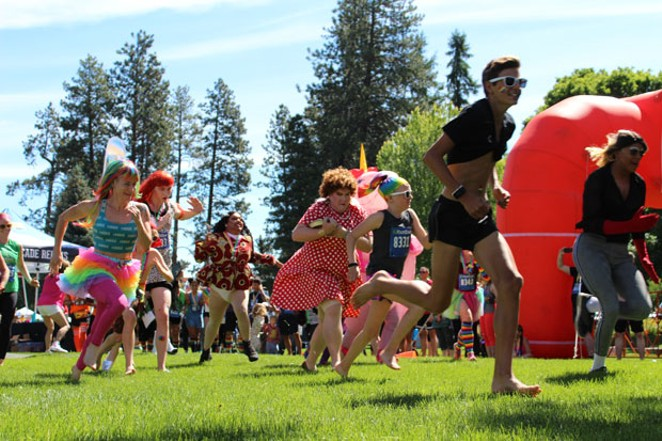 While this year's festivities may not resemble last year's, there are still many ways to get involved and celebrate LGBTQ+ pride. - COURTESY OF OUT CENTRAL OREGON