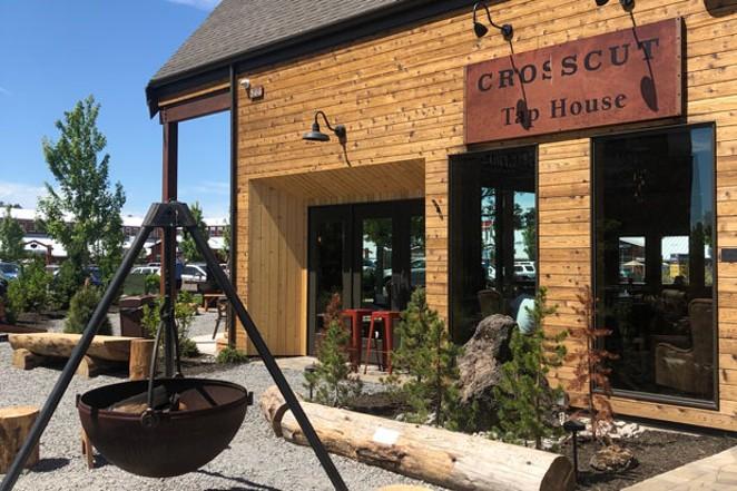 The Crosscut Tap House is now open. - NICOLE VULCAN