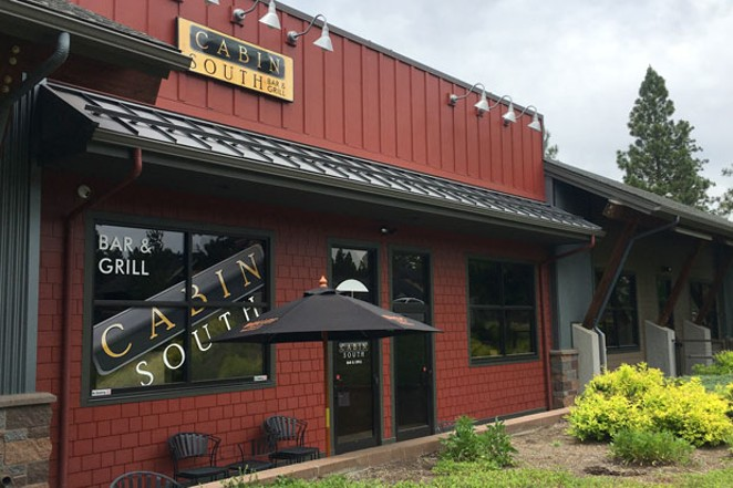 The new Cabin South Bar & Grill at Brookswood Meadow Plaza in South Bend. - DARRIS HURST