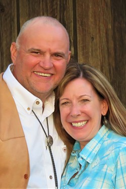 Larry and Linda Monger, owners of Long Hollow Ranch outside of Sisters. - COURTESY OF LONG HOLLOW RANCH