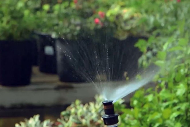 Efficient watering methods are one way to conserve water. - COURTESY CENTRAL OREGON LANDSYSTEMS