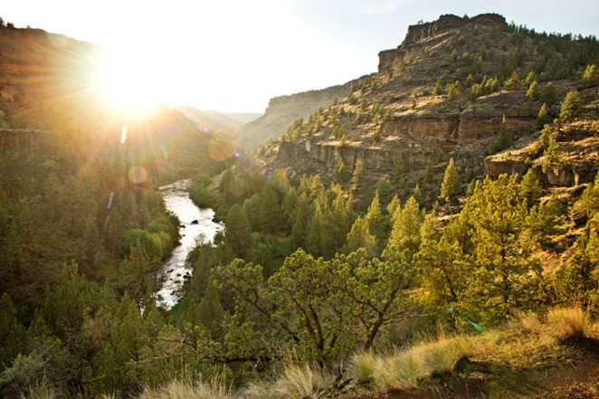 The Middle Deschutes below Steelhead Falls. - ARIAN STEVENS