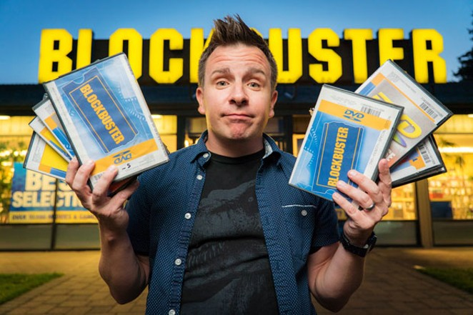 """The Last Blockbuster"" director Taylor Morden. - COURTESY BENDFILM"