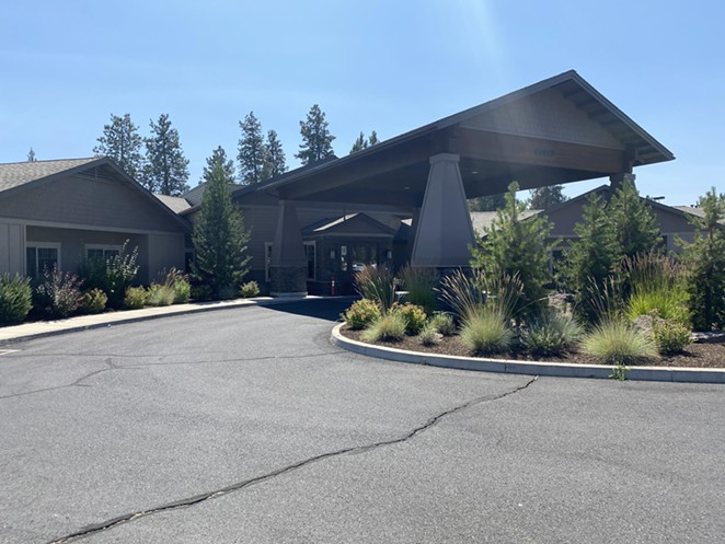 Mt. Bachelor Memory Care has been the center of a local COVID-19 outbreak, where 41 residents and 23 staff members tested positive, and six residents have died. - LAUREL BRAUNS