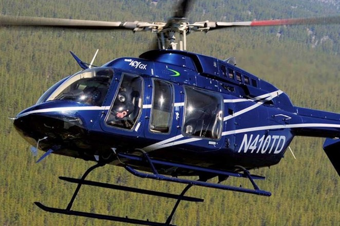 It took teams on the ground and in the air to complete the recovery mission on Mt. Jefferson. - JEFFERSON COUNTY SEARCH AND RESCUE