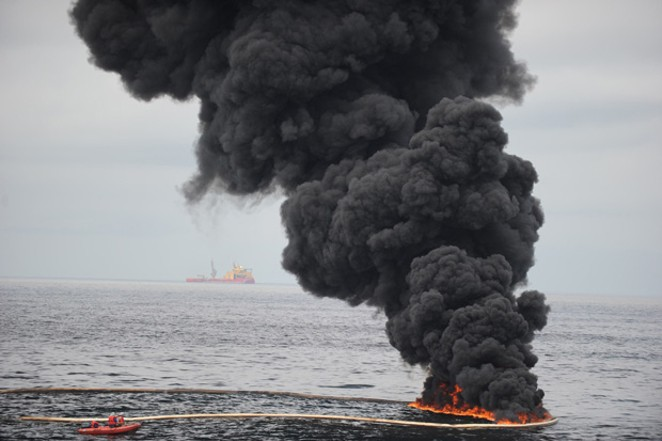 The 2010 Deepwater Horizon disaster in federally leased waters in the Gulf of Mexico took 11 lives. Clean-up in the aftermath cost British Petroleum over $65 billion — more than 3 times the amount of money spent by the LWCF in the 55 years the fund has existed. - JUSTIN E. STUMBERG / U.S. NAVY