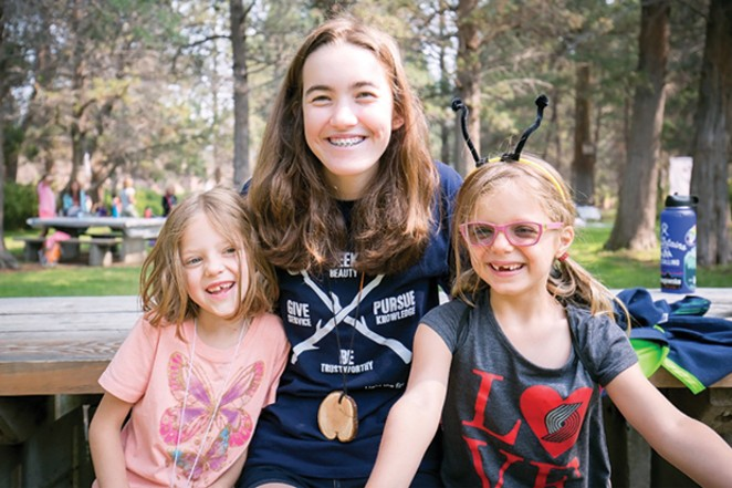 Teens learn leadership and teamwork skills at Tumalo Day Camp's Counselor in Training program - SUBMITTED