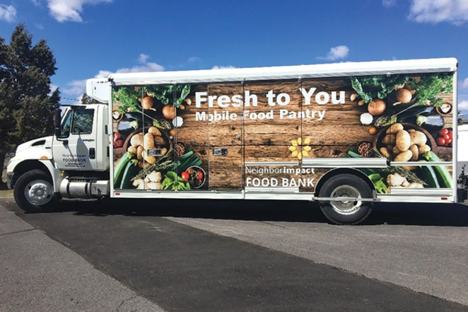 NeighborImpact hits the road with their Mobile Pantry. - SUBMITTED