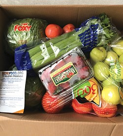 Not only does NeighborImpact distribute non-perishables, they also focus on fresh foods. - SUBMITTED