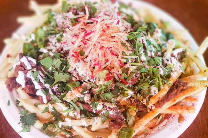 The Carne Asada Fries from A' la Carte are guaranteed to satisfied any case of the munchies. - CAYLA CLARK