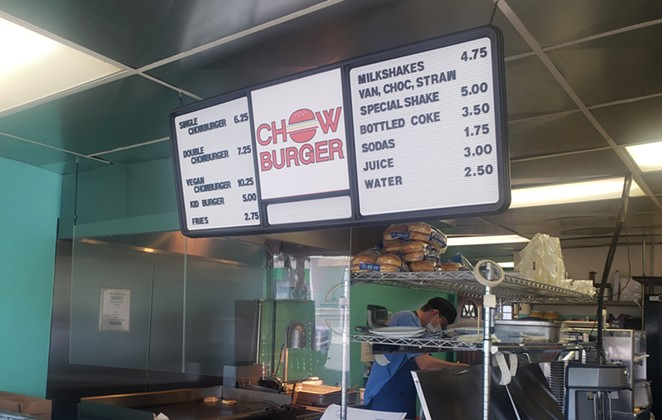 Chow Burger is simple and unassuming... but what more could you really want from a neighborhood burger joint? - CAYLA CLARK