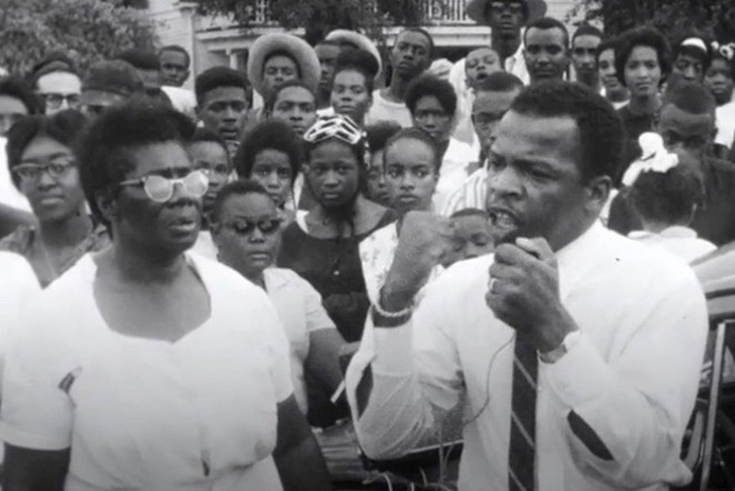 Always a fighter, John Lewis never backed down. - COURTESY OF MAGNOLIA PICTURES
