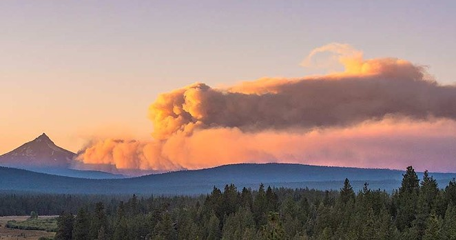 Lionshead Fire shuts down Mt. Jefferson Wilderness - BY KRIS KRISTOVICH - COURTESY THE NUGGET NEWSPAPER