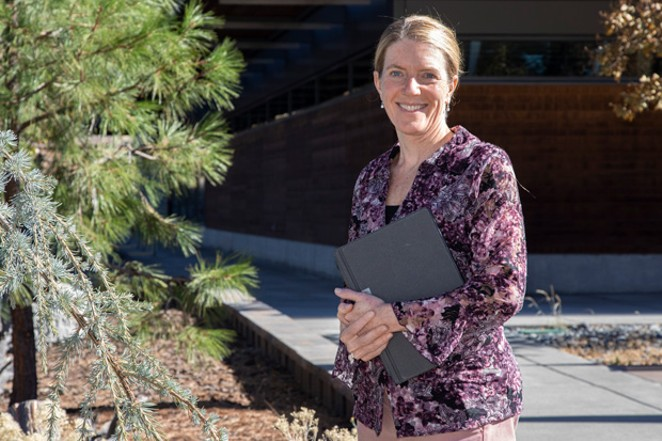 Laura Boehme has worked at Central Oregon Community College since 2010 and was recently promoted to chief technology officer. - CENTRAL OREGON COMMUNITY COLLEGE