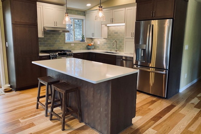 A completed project by Bend Craftsman Company. - BEND CRAFTSMAN COMPANY T