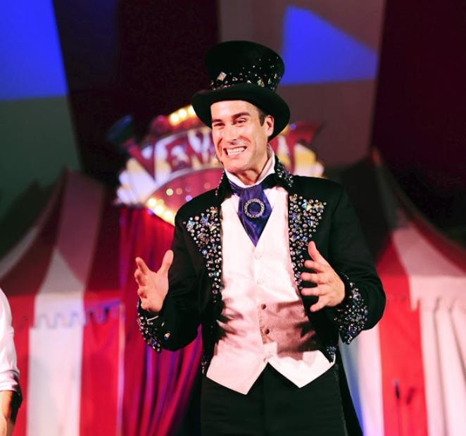 Kevin Venardos, ringmaster and founder of Venardos Circus. - SARAH ERNST PHOTOGRAPHY