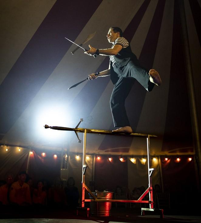 """Venardos Circus is described as a """"touring Broadway-style animal free production."""" - VENARDOS CIRCUS"""