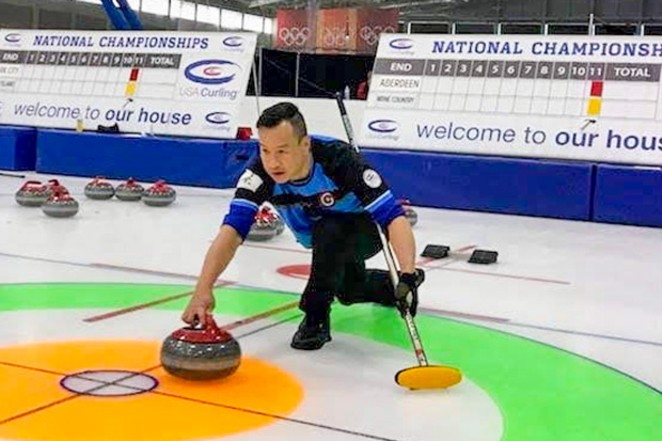 Curling is still a go during the pandemic. - BEND CURLING CLUB