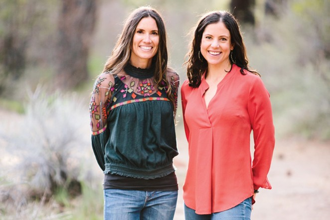 (L to R) Dr. Ashley Gish and Dr. Marie Agnew. - SUBMITTED