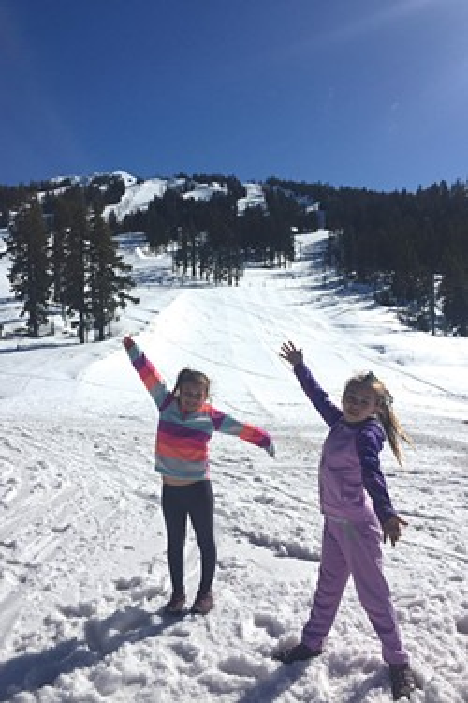 Fresh air and sunshine at Mt. Bachelor! - JOSHUA SAVAGE