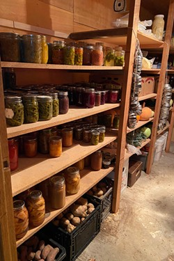 Sammy Jo Graham of Powell Butte shared this photo of her pantry from this year. She canned 400 jars of food, plus stored three full freezers and 400 pounds of produce—plus 50 pounds of homemade cheese. - SAMMY JO GRAHAM