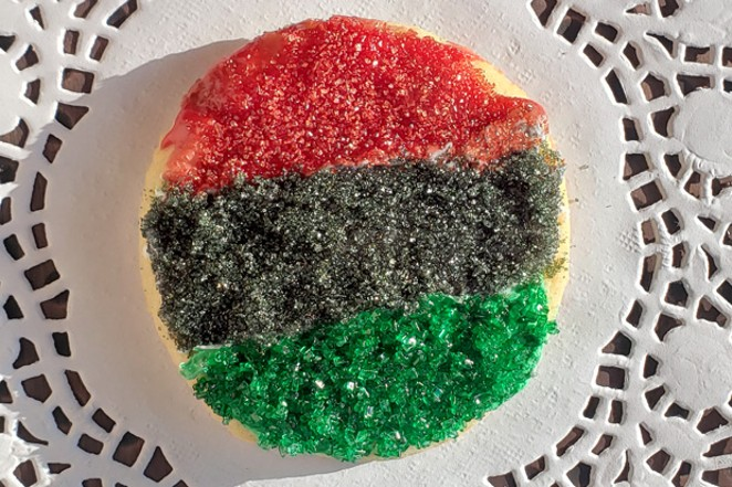 One of the writer's takes on holiday cannabis cookies. - JOSH JARDINE
