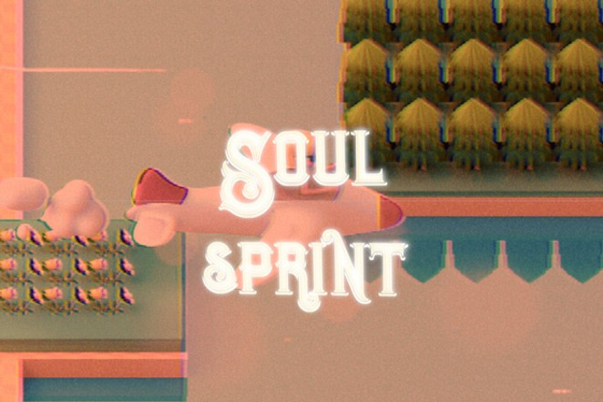 """""""Soul Sprint"""" serves as a two-minute and fifty-second moment of peace. - JACOB RUSSELL"""