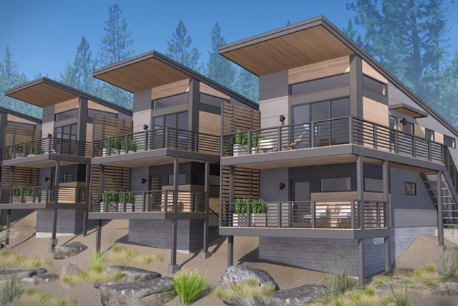 Net Zero ready development called Hiatus Roanoke happening on the west side of Bend. - SUBMITTED