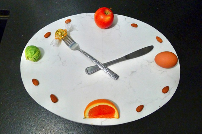 Before you tear into this feast, consider fasting for a few hours on any given day. - ARI LEVAUX